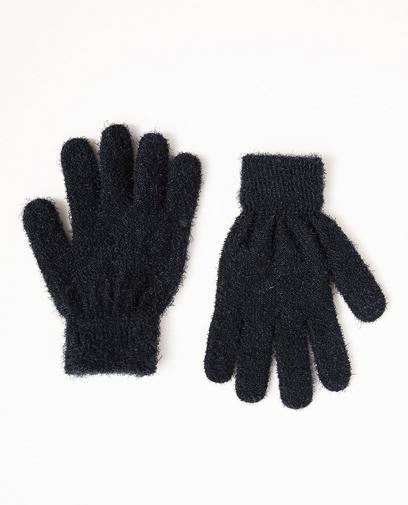 Petrolblaue Handschuhe